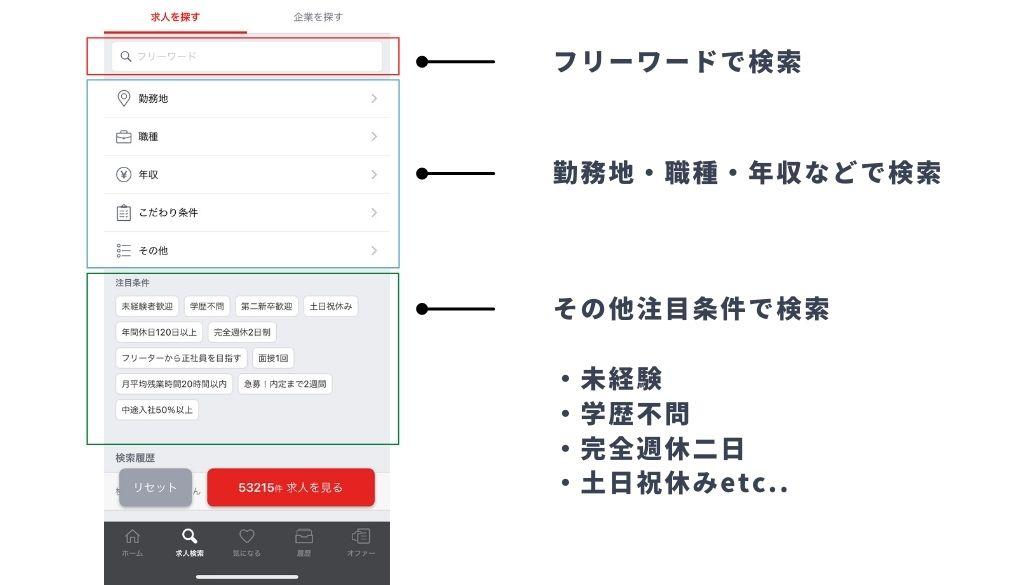 求職活動実績を簡単に作る方法_転職サイトに登録する